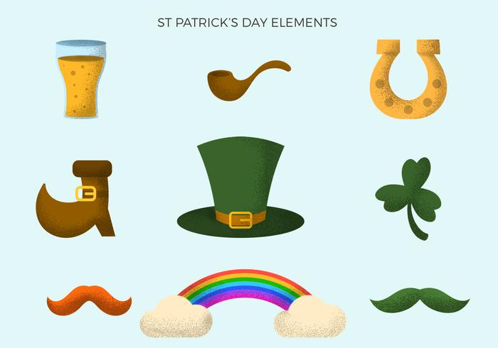 Vintage St Patrick's Day Element Collections