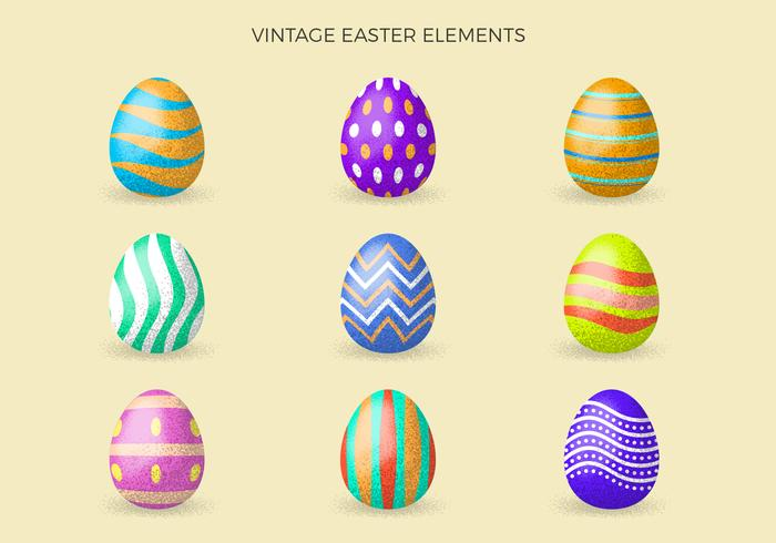 Vintage Easter Clipart Collection