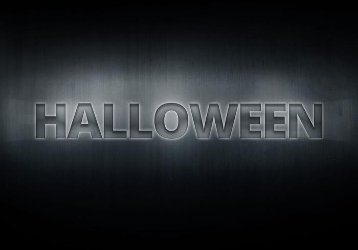 Spooky Halloween Metals Text Effect