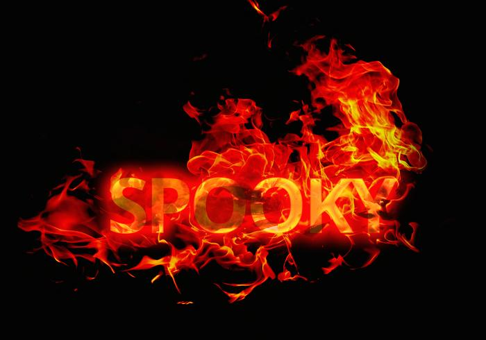Spooky Halloween Fire Text Effect - Free Photoshop Brushes at Brusheezy!