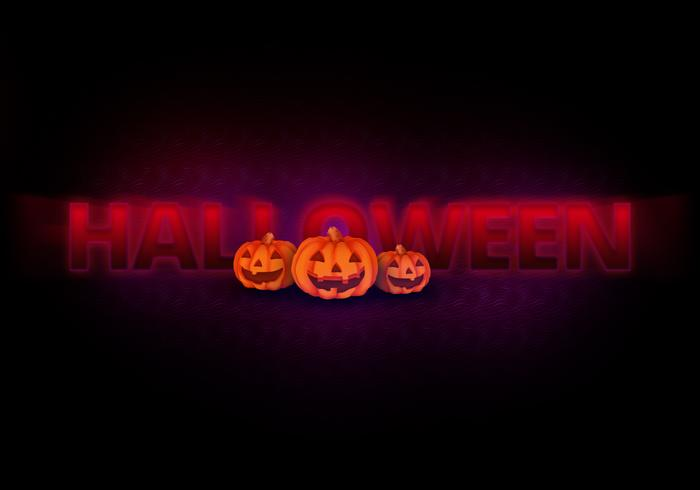 Spooky Halloween Text Effect