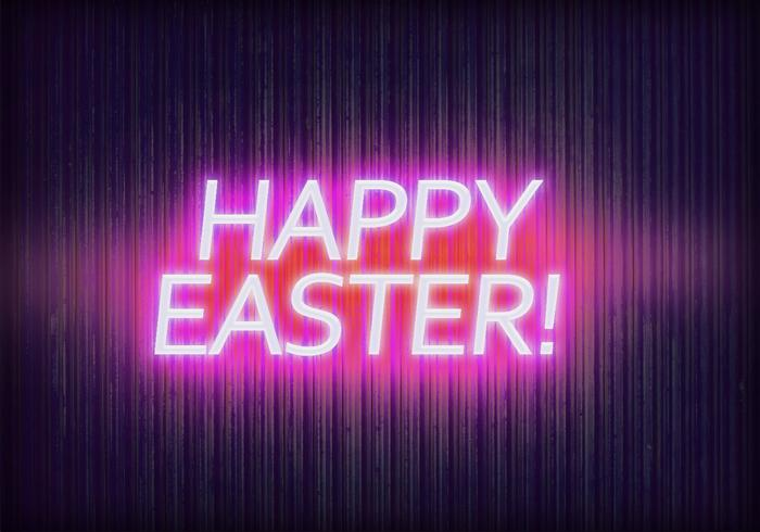 Happy Easter Text Effect