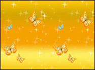 Estrellas y mariposas