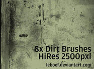 Hoge Res Dirt Brush Set