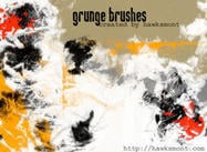 Brosses grunge