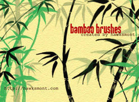 Bamboo-brushes