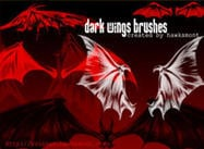Dark Wings Brushes