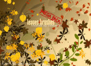 Leaves Brushes - MEGA PACK