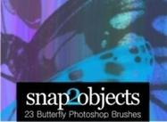 23 Pinceaux gratuits Butterfly Photoshop
