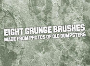 Dumpster grunge brushes