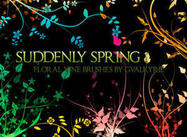 Soudain Spring Photoshop Brushes