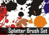 Splatters Brush Set