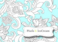 Pixel & iceCream flowersFirst