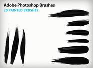Paint Stroke Brushes