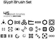 Glyph Brushes