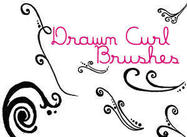 Drawncurlbrushes