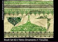 Brush_set_63___retro_ornaments_by_punksafetypin