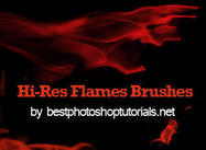 Hi-Res Flame Brushes