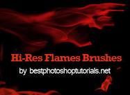 Hi-Res Flame Brushes
