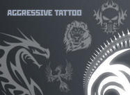 aggressive tattoo