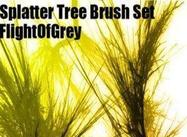 Splatter Tree Brushes