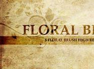 Floral Brush Set