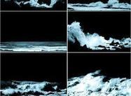 Stormachtige zeeën