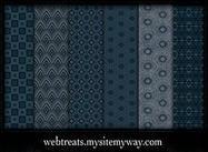 Mitternachtsblau Muster