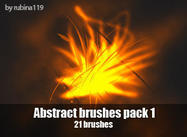 Abstract Brushes Pack 1