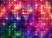 Vibrant Grungy Bokeh Textur