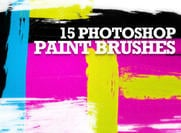 Gratis Hi-Resolution Paint Stroke Photoshop Borstels