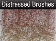 Distressed Grunge Pack - 26 Brushes