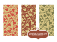 """GrapeVine"" Seamless Pattern Tile"