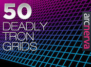 50 Dead Tron Grids - Arcnerva