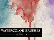 Wg aquarelle brosses vol1