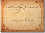 Calligraphic Ornaments