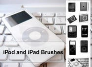 9 Brosses iPod et iPad exclusives et exclusives pour Photoshop.