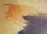 Traits de peinture secs