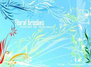 Pinceaux floraux I