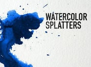 Watercolor Splatters