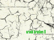 Crack Brushes II