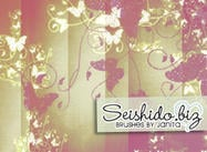 FREE Seishido.biz Butterfly Brushes