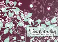 FREE Seishido.biz Flower Brushes