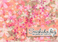 FREE Seishido.biz Distressed Flower Brushes