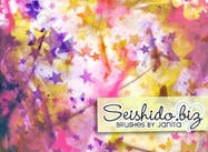GRATIS Seishido.biz Grungy Star Paper Brushes