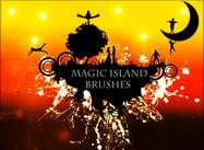 Magic Floating Island Borstar av rock91