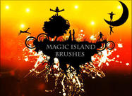 Magic Floating Island Pinceles de rock91
