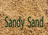 Sand konsistens