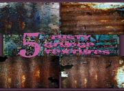 5 Rusty Grunge Textures