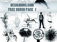 Gratis Photoshop borstar pack